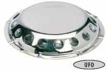 Vetus UFO Stainless Steel Deck Ventilator - Non Closeable