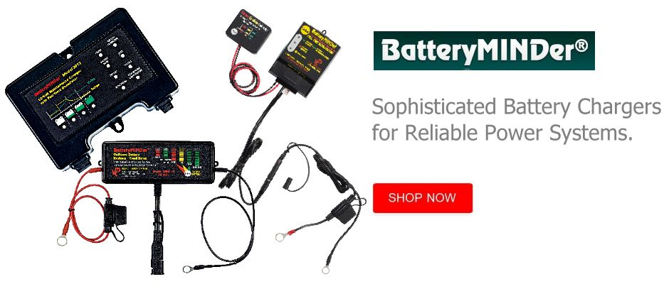 BatteryMINDer Smartchargers for the Smart Boater!