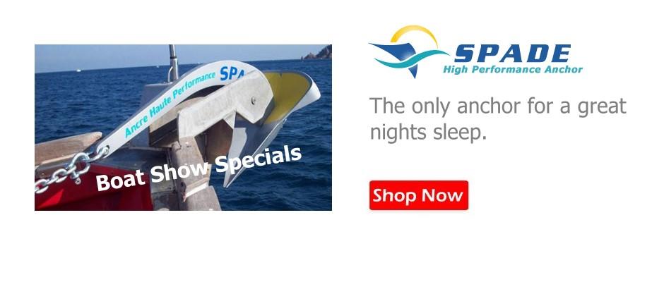 Spade Anchors - For a great nights sleep!